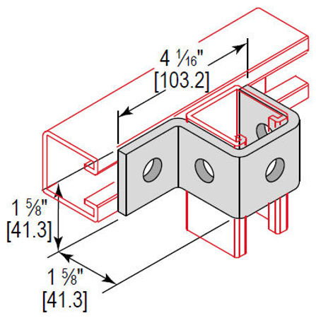 Picture for category U-Fitting 4 Hole Cup Support