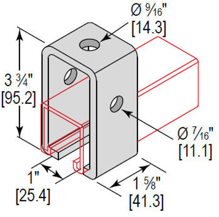 Picture for category U-Fitting Trolley Support