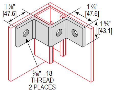 Picture for category Z Fitting Corner Brace