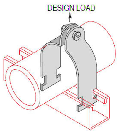 Picture for category Conduit Strut Clamps